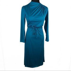 Sleek vintage 70's disco dress